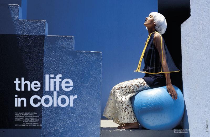 andrea la roca hacid magazine cinco punto cero agencia modelos valencia