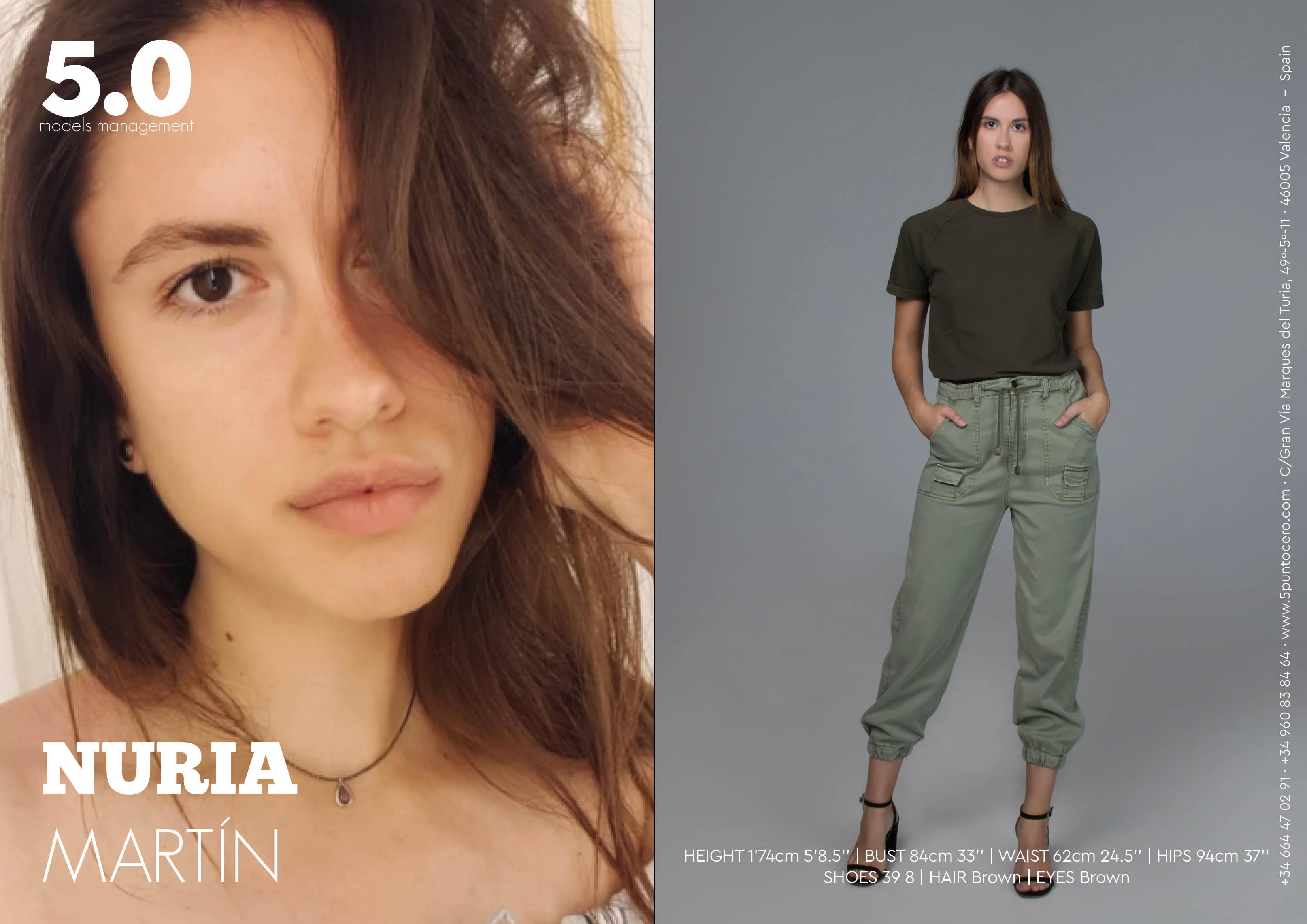 nuria martin cinco punto cero agencia modelos valencia